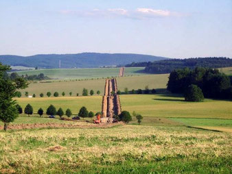 Gasleitungsbau bei Oberottendorf