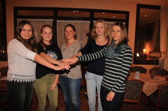 Sophia Lück, Mareike Lincke, Viviane Schubert, Vicky Wiehe, Silja Müller
