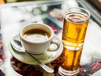 Cibo e cucina in Indonesia. Caffè e Tè