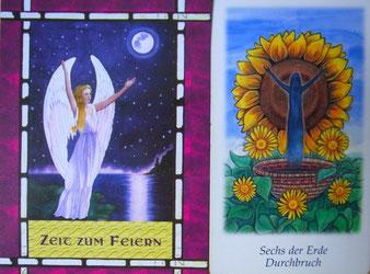 Kartenquelle: Vision Quest Tarot und Doreen Virtue: Das Heilorakel der Engel