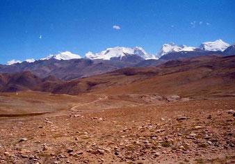 die eisgekrönten Berge des Himalaya