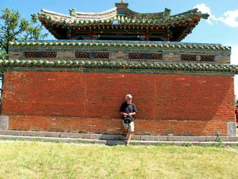 ein letztes Mongolei-Bild in Karakorum Kloster Erdene Zuu