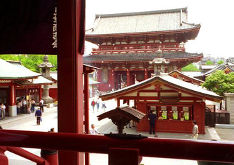 der Tempel-Bezirk Meiji-jingu