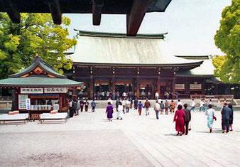Besuch des Meiji-Schreins