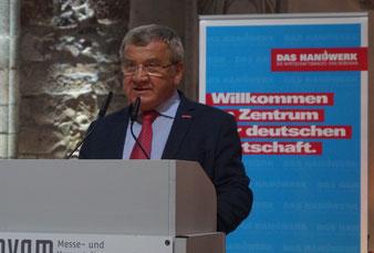 Kreishandwerksmeister Konrad Zahn. Foto: Alpha-Report