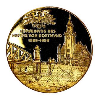 Goldmedaille Hafen Dortmund