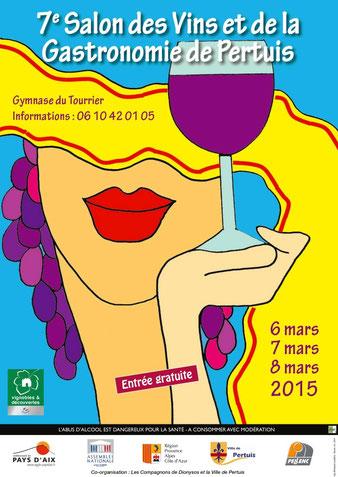 Retrouvez les producteurs de l'association sur notre stand de vente de pommes de terre de Pertuis lors du salon des vins et de la gastronomie au gymnase du Tourrier à Pertuis du 6 au 8 mars 2015