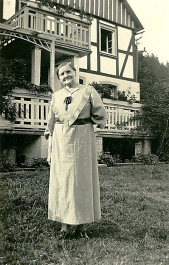 Anna Sternberg, geb. Cormann (Foto um 1950)