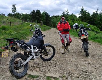 Jack Clews von CCM Motorcycles
