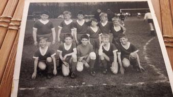 Roland Apel und seine erste Mannschaft