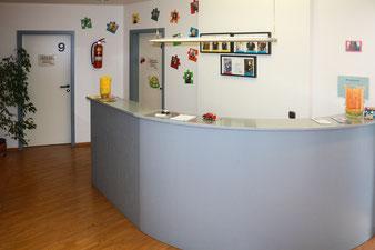 Eingang Praxis Mainusch Essen-Borbeck