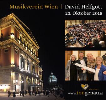 Musikverein Wien, 23. Oktober 2018