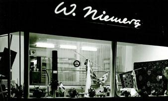 Gardinen Willi Niemerg am heutigen Standort um 1960