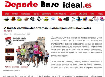 Deporte Base Ideal.es, 19 de diciembre de 2012