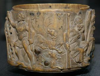 Hostienschale (Pyxis) des Heiligen Liudger Schatzkammer Werden | Fotos: Martin Engelbrecht