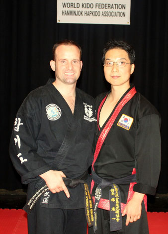 Meister Scott Sungyeel Seo 7.DAN,General Secretary, HANMINJOK HAPKIDO ASSOCIATION