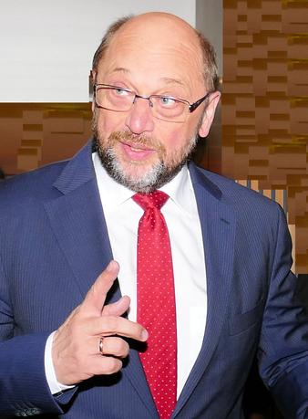 Martin Schulz © mainhattanphoto/Klaus Leitzbach