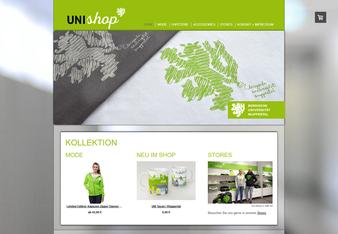 Zum Beispiel: unishop-wuppertal.de