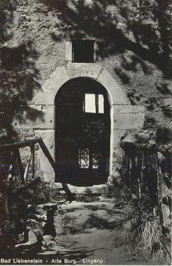 Eingang 1939