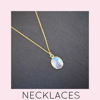 Necklaces - Kettingen - Gemstone - Edelstenen - sieraden - winkel