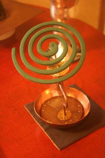 「水の見える花器」+蚊取り線香・燭台ユニット  福成三太