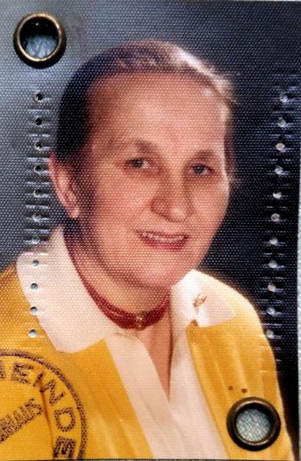 Passfoto der Mutter