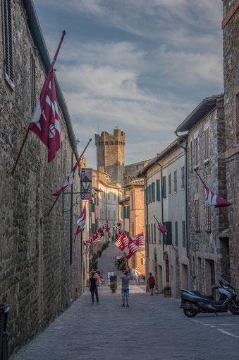 Montalcino, la patria del Brunello.