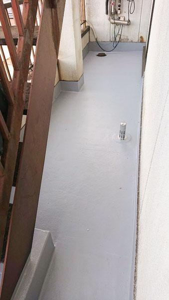千葉市若葉区千城台北の屋上防水工事