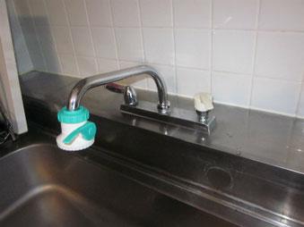 キッチン水栓リフォーム前