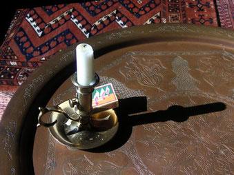 Nirvana: la lámpara de su existencia empírica se apaga