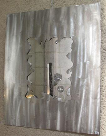 acier inoxydable ou acier verni, sur-mesure découpe plasma contemporain reflet