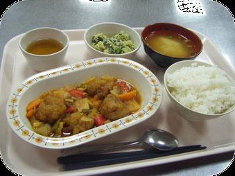 大阪府堺市 生活介護 堺あけぼの園での食事