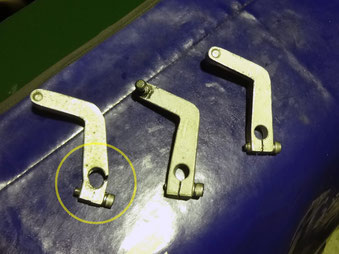 フェアレディ240Z キャブレターロッド修理