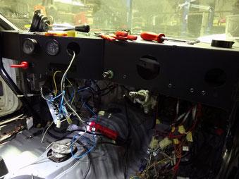 AE86レビン 競技用ダッシュボード製作