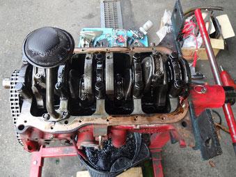 A型エンジンオーバーホール