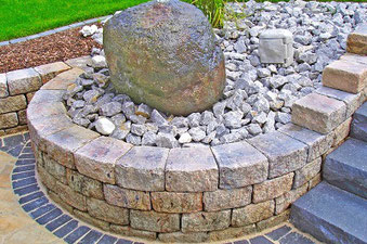 PiccoTrapez-Gartenmauer