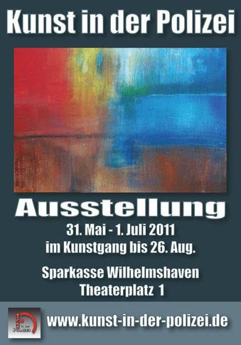 Plakat Ausstellung WHV