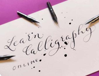Kalligraphie lernen online live
