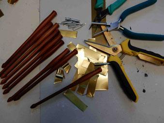 Kalligraphiefederhalter aus Holz