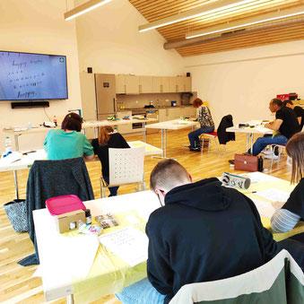 Kalligraphie lernen im Allgäu