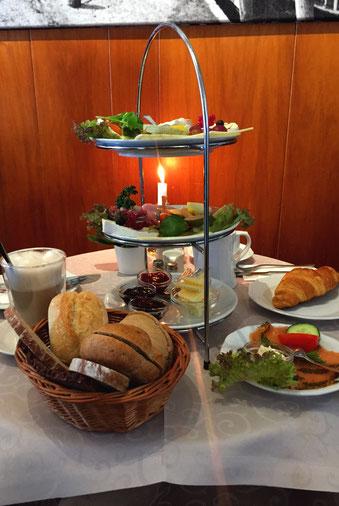 Frühstück in Wyk auf Föhr