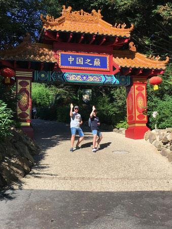 Joel et Bastien au zoo de beauval  !