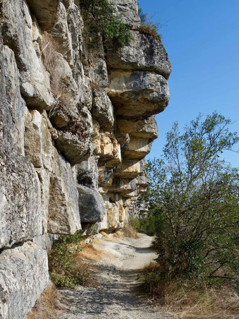 Wanderung Balazuc nach Lanas
