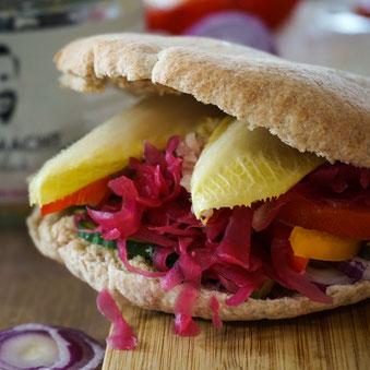 Gesundes Mittagessen im Homeoffice - ein kreatives Rezept mit Fermentiertem!