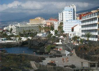 Neue  Badebucht an der Fußgängerzone San Telmo in Puerto de la Cruz.