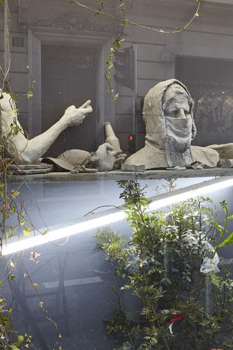 Ugo Schiavi, Galerie Double V, Marseille © jean christophe Lett
