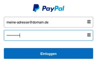 Mein Paypalkonto