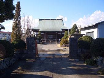 茅ヶ崎市萩園、満福寺