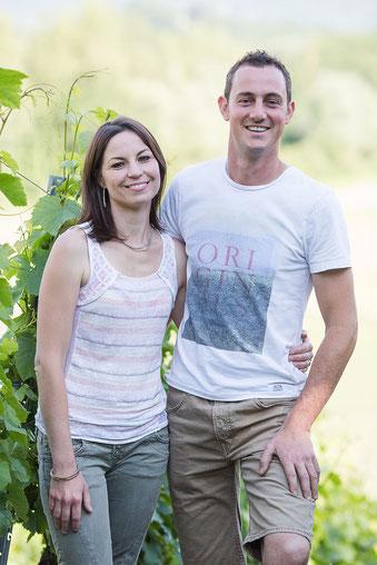 Domaine Vendange Vins de Savoie - Benjamin et Diane Vendange