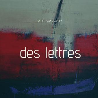 Carole Bécam - Artiste peintre - Série Des Lettres